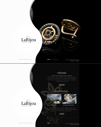 Jewelry website inspirations at your coffee break? Browse for more Stretched Flash CMS Theme #templates! // Regular price: $99 // Sources available:.XFL #Jewelry #Stretched Flash CMS Theme