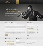 Stretched Flash CMS Theme Template #44788