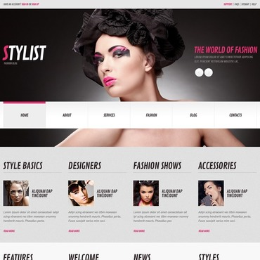 WordPress Theme # 44820