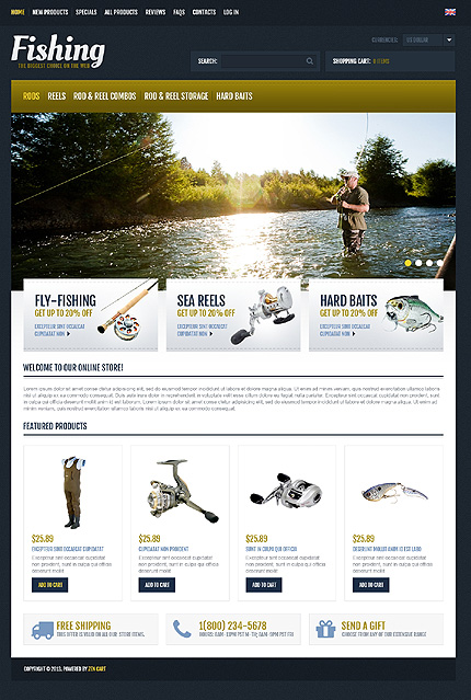 сайты по заказу рыболовные