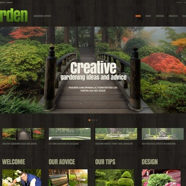 WordPress Theme # 44898