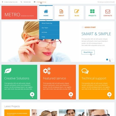 WordPress Theme 44910