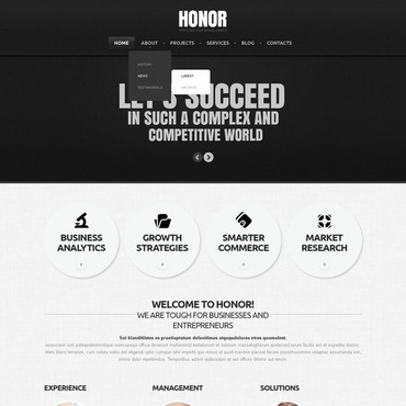 Website Template # 44982