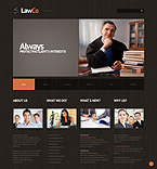 Lawyer WordPress Template