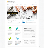 Responsive JavaScript Animated Template #45031