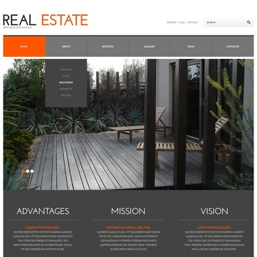 WordPress Theme # 45036