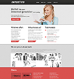 Responsive JavaScript Animated Template #45044
