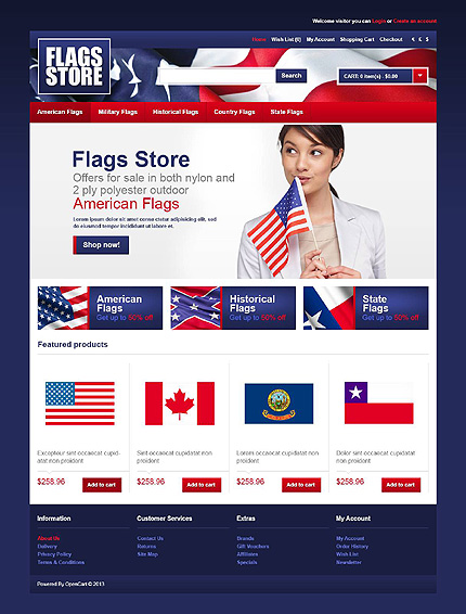 Politics website inspirations at your coffee break? Browse for more OpenCart #templates! // Regular price: $89 // Sources available: .PSD, .PNG, .PHP, .TPL, .JS #Politics #OpenCart