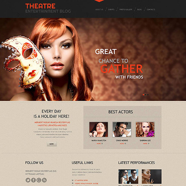 WordPress Theme # 45269
