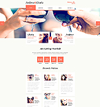 Responsive JavaScript Animated Template #45401