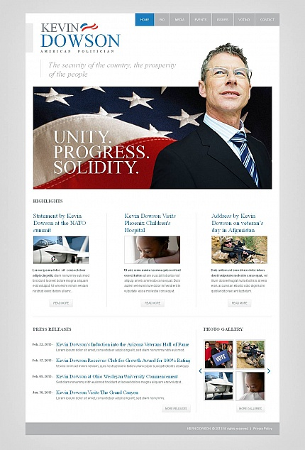 Politics Most Popular website inspirations at your coffee break? Browse for more Moto CMS HTML #templates! // Regular price: $139 // Sources available:<b>Sources Not Included</b> #Politics #Most Popular #Moto CMS HTML