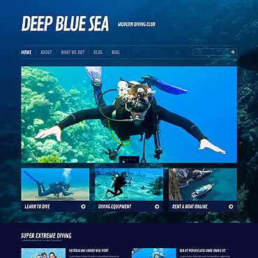 WordPress Theme # 45576