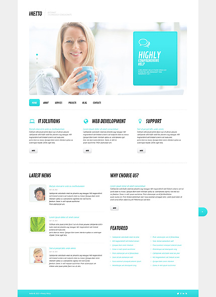 Internet Most Popular website inspirations at your coffee break? Browse for more WordPress #templates! // Regular price: $75 // Sources available: .PSD, .PHP, This theme is widgetized #Internet #Most Popular #WordPress