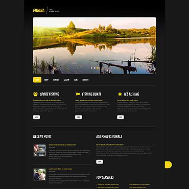WordPress Theme # 45578