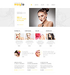 Responsive JavaScript Animated Template #45733