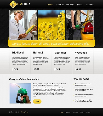 Alternative Power website inspirations at your coffee break? Browse for more Moto CMS HTML #templates! // Regular price: $139 // Sources available:<b>Sources Not Included</b> #Alternative Power #Moto CMS HTML