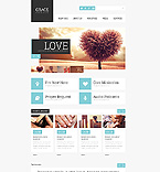 Responsive JavaScript Animated Template #45895