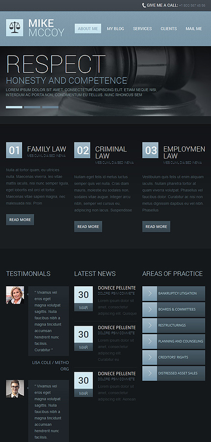 Law Most Popular website inspirations at your coffee break? Browse for more Drupal #templates! // Regular price: $75 // Sources available: .PSD, .PHP #Law #Most Popular #Drupal