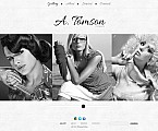 Stretched Flash CMS Theme Template #45985