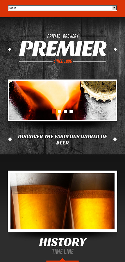 Most Popular Brewery Templates website inspirations at your coffee break? Browse for more Joomla #templates! // Regular price: $75 // Sources available: .PSD, .PHP #Most Popular #Brewery Templates #Joomla