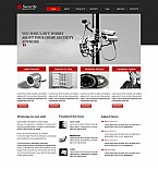 Stretched Flash CMS Theme Template #46065