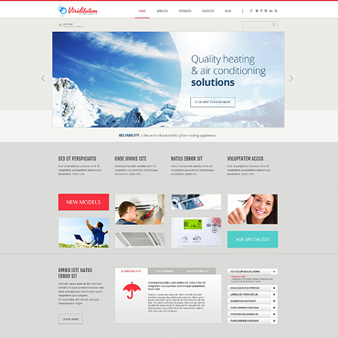 WordPress Theme # 46087