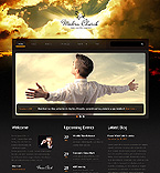 Responsive JavaScript Animated Template #46157