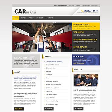 Website Template # 46162
