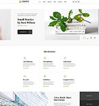 Responsive JavaScript Animated Template #46251