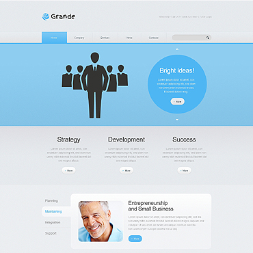Website Template # 46354