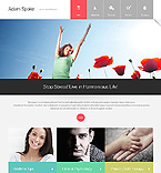 Download Template Monster Website Template 46445