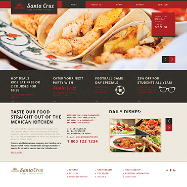 Website Template # 46514