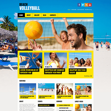 WordPress Theme # 46547