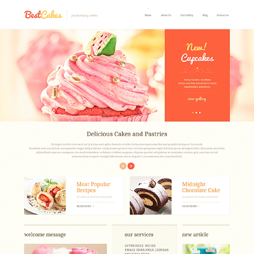 WordPress Theme # 46571