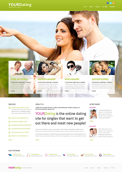 Dating website templates joomla