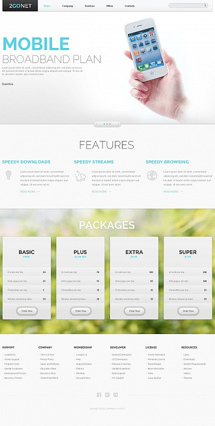 Communications website inspirations at your coffee break? Browse for more Stretched Flash CMS Theme #templates! // Regular price: $99 // Sources available:.XFL #Communications #Stretched Flash CMS Theme
