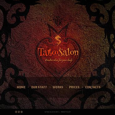 Website Template # 46697