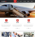 Responsive JavaScript Animated Template #46724