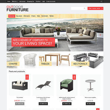 OpenCart Template # 46977