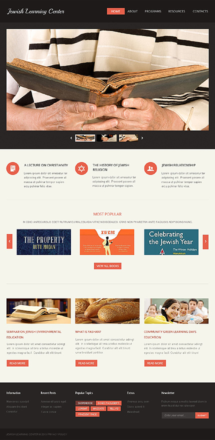 Religious website inspirations at your coffee break? Browse for more Responsive JavaScript Animated #templates! // Regular price: $69 // Sources available: .HTML,  .PSD #Religious #Responsive JavaScript Animated