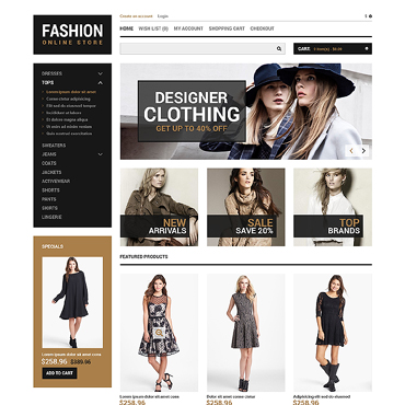 OpenCart Template # 46980