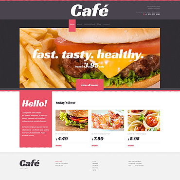 WordPress Theme # 47008