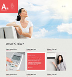 WordPress Template #47018
