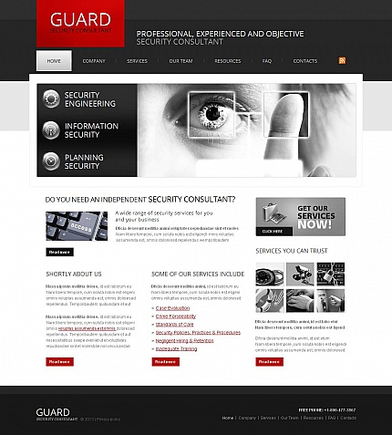 Security Most Popular website inspirations at your coffee break? Browse for more Moto CMS HTML #templates! // Regular price: $139 // Sources available:<b>Sources Not Included</b> #Security #Most Popular #Moto CMS HTML