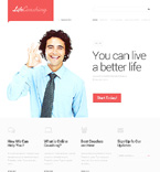 Responsive JavaScript Animated Template #47101