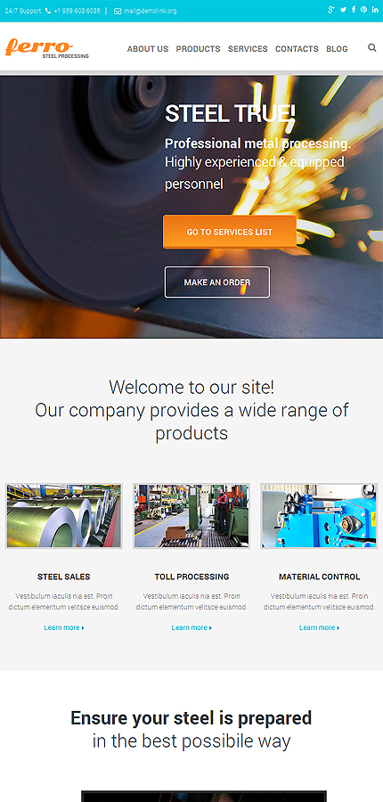 Industrial Most Popular website inspirations at your coffee break? Browse for more Responsive JavaScript Animated #templates! // Regular price: $69 // Sources available: .HTML,  .PSD #Industrial #Most Popular #Responsive JavaScript Animated