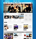 Stretched Flash CMS Theme Template #47130