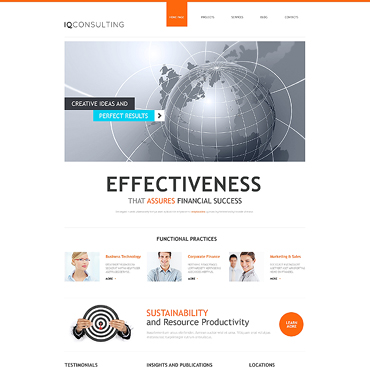 WordPress Theme # 47225