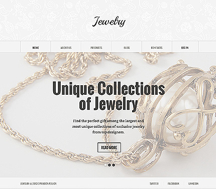 Jewelry Most Popular website inspirations at your coffee break? Browse for more Joomla #templates! // Regular price: $75 // Sources available: .PSD, .PHP #Jewelry #Most Popular #Joomla