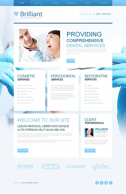 Medical Most Popular website inspirations at your coffee break? Browse for more Moto CMS HTML #templates! // Regular price: $139 // Sources available:<b>Sources Not Included</b> #Medical #Most Popular #Moto CMS HTML